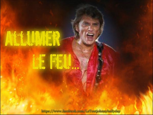 Johnny Et Elvis >> Johnny Hallyday - Allumer Le feu